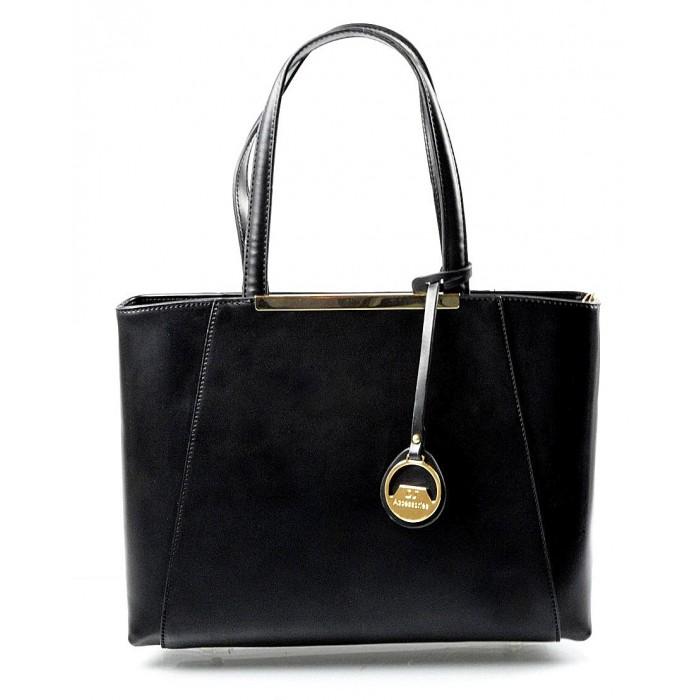 Elegantní černá kabelka Limet David Jones 14023 Sleva 6%