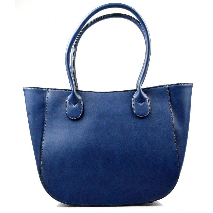 Moderní modrá kabelka lani