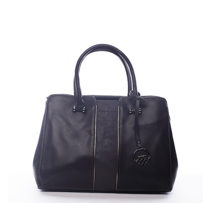 Elegantní černá kabelka do ruky Omega David Jones 6860