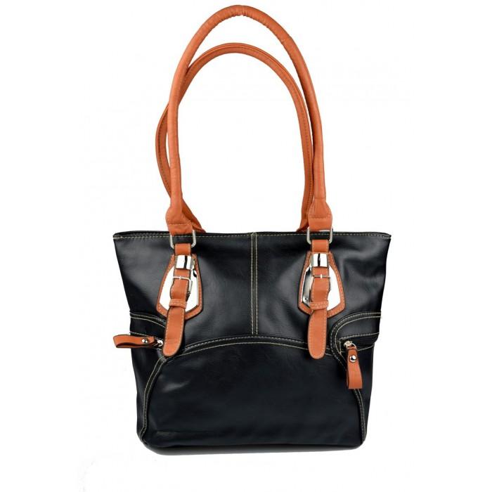 Černá kabelka Agnetha