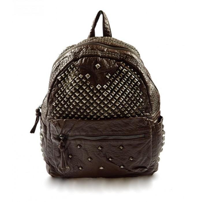 Dámský stylový hnědý batoh Sena Marlen 11038