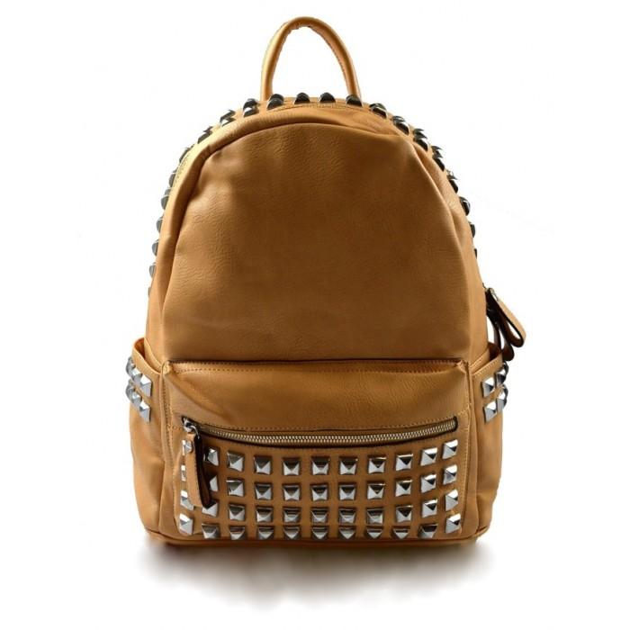 Dámský cihlově hnědý batoh Darine Marlen 11045