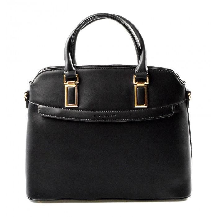 černá kabelka do ruky Remise David Jones 10202