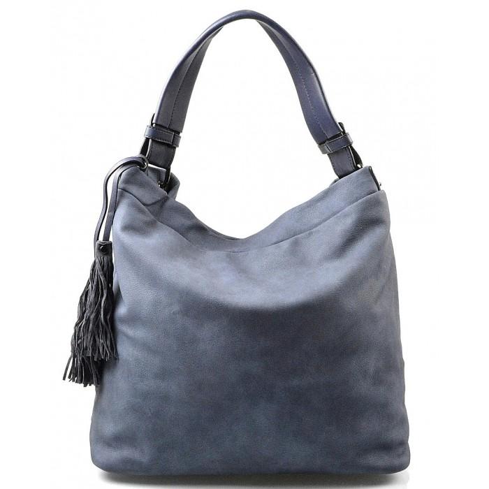 světlejší modrá luxusní kabelka Elen Valeria 14109