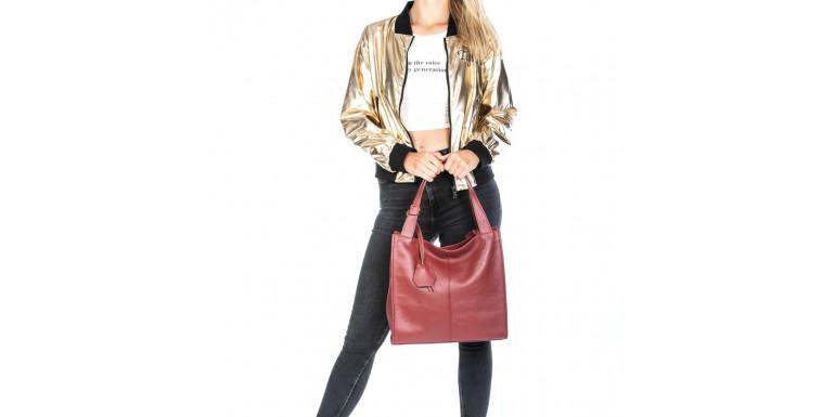 Kožené shopper kabelky a tašky