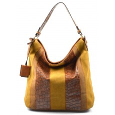 světle hnědá designová filcová kabelka Sandrine