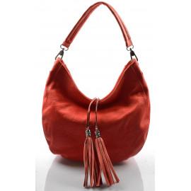 Elegantní červená crossbody kabelka na rameno Eris