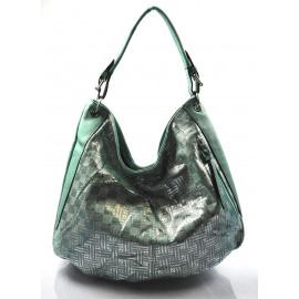 zelená moderní kabelka na rameno Abril