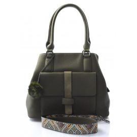 stylová zelená kabelka cali