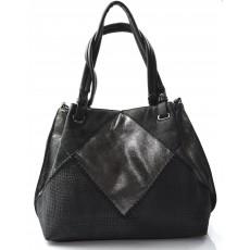 černá designová kabelka dorine