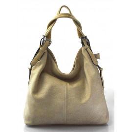 krásná béžová kabelka na rameno livia