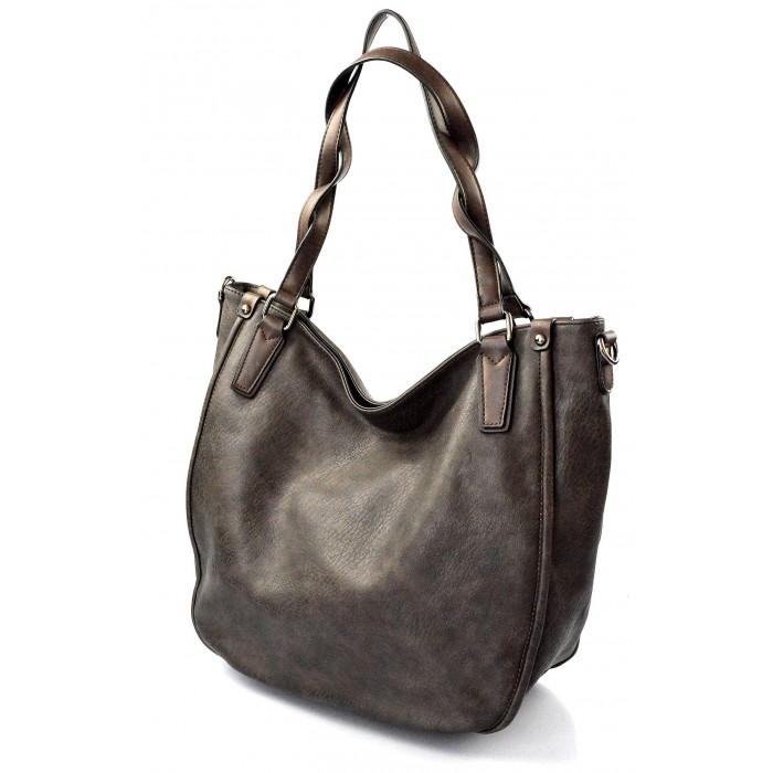 krásná tmavě hnědá kabelka na rameno regina 4c004ebbb2a