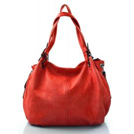 krásná červená kabelka na rameno roline