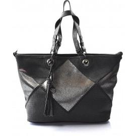 krásná černá kabelka na rameno charlize