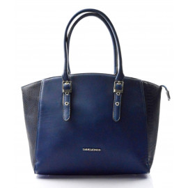 Modrá elegantní větší taška Merlyn