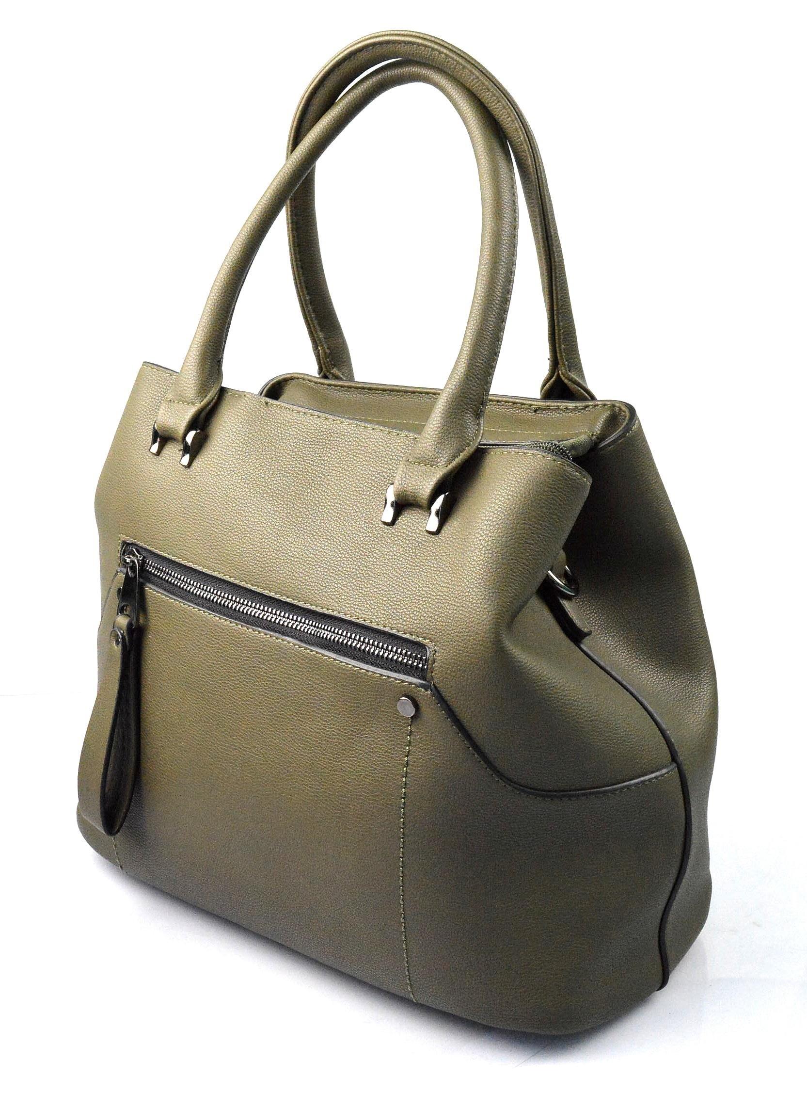 stylová zelená kabelka cali two