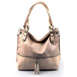 moderní růžová shopper taška charlie