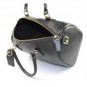 Kožená černá kabelka do ruky Kinsley