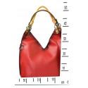 luxusní stříbrná kabelka 2v1 samantha