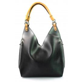 luxusní černá kabelka 2v1 samantha