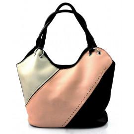 luxusní italská kabelka s černou italien two