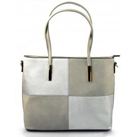 Elegantní šedá menší kabelka joslin