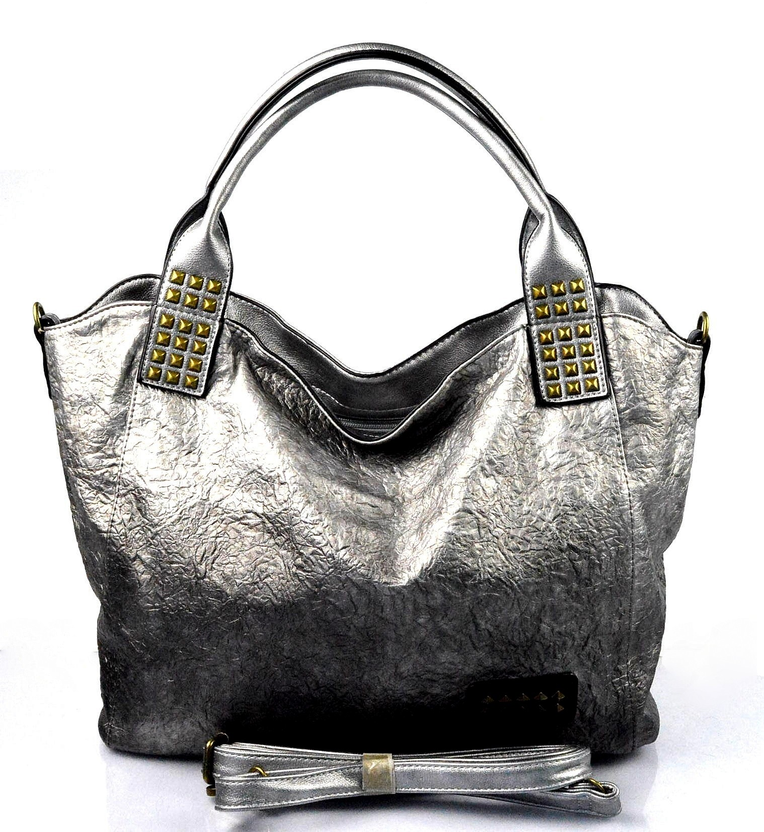 Moderní stříbrná kabelka rita