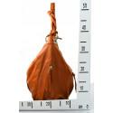 Kožená hnědá camel velká taška na rameno adele