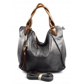 netradiční šedá shopper taška different two