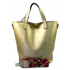 menší zlatá shopper taška jayden