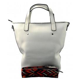menší sněhově bílá shopper taška jayden