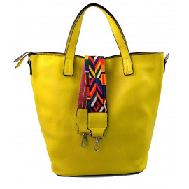 menší žlutá shopper taška jayden
