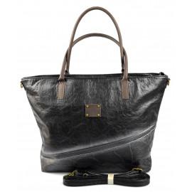 netradiční opravdu velká černá taška na rameno nova