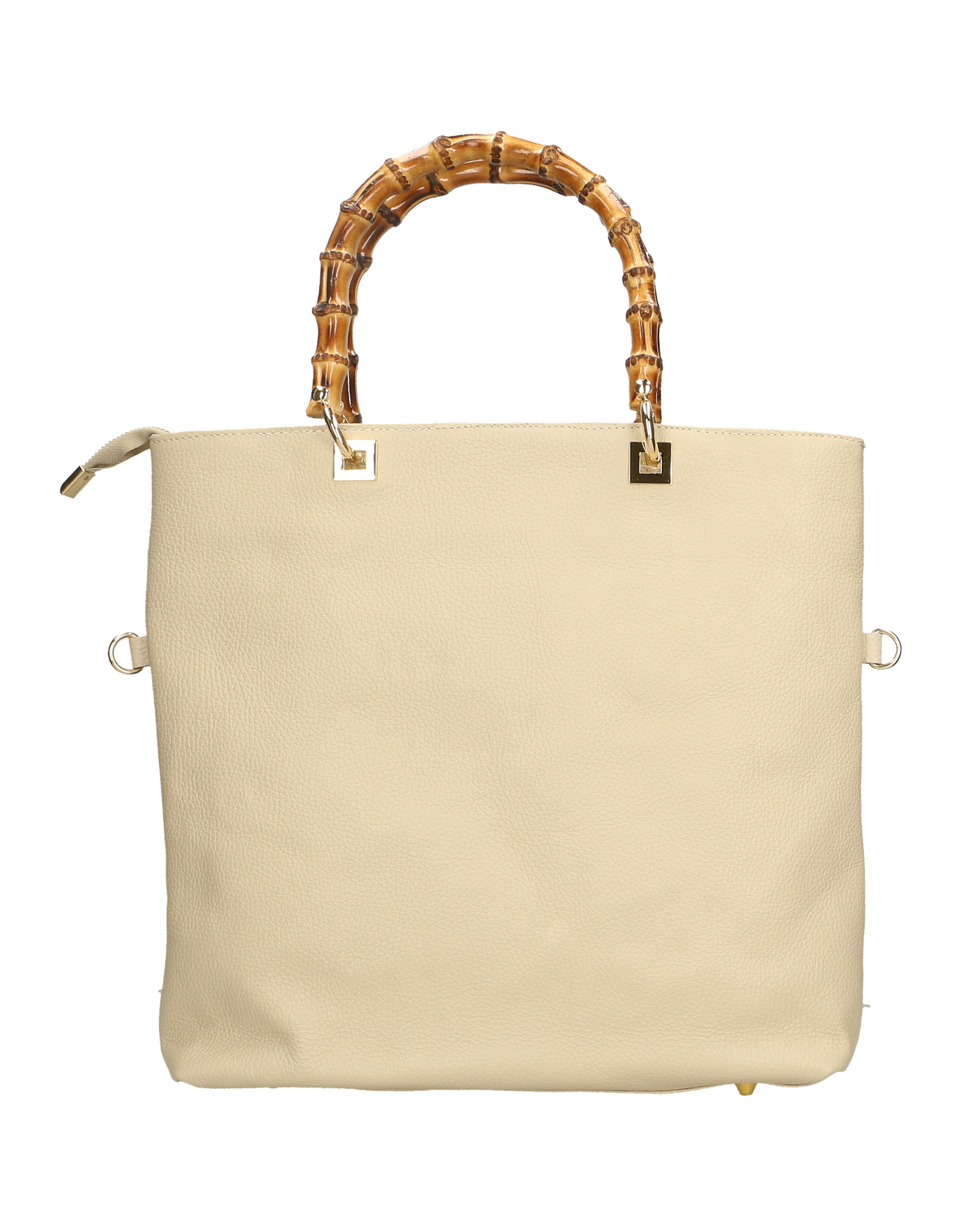Kožená luxusní béžová beige shopper kabelka kabelka do ruky laura