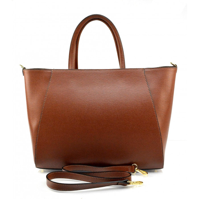 3fa108808c Kožená luxusní hnědá brown kabelka přes rameno daveney