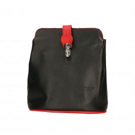 Kožená černá crossbody kabelka deana