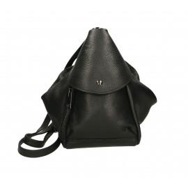 Praktický luxusní černý menší batůžek alexis