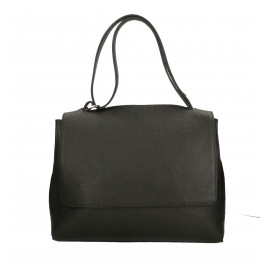 Kožená černá kabelka dixi