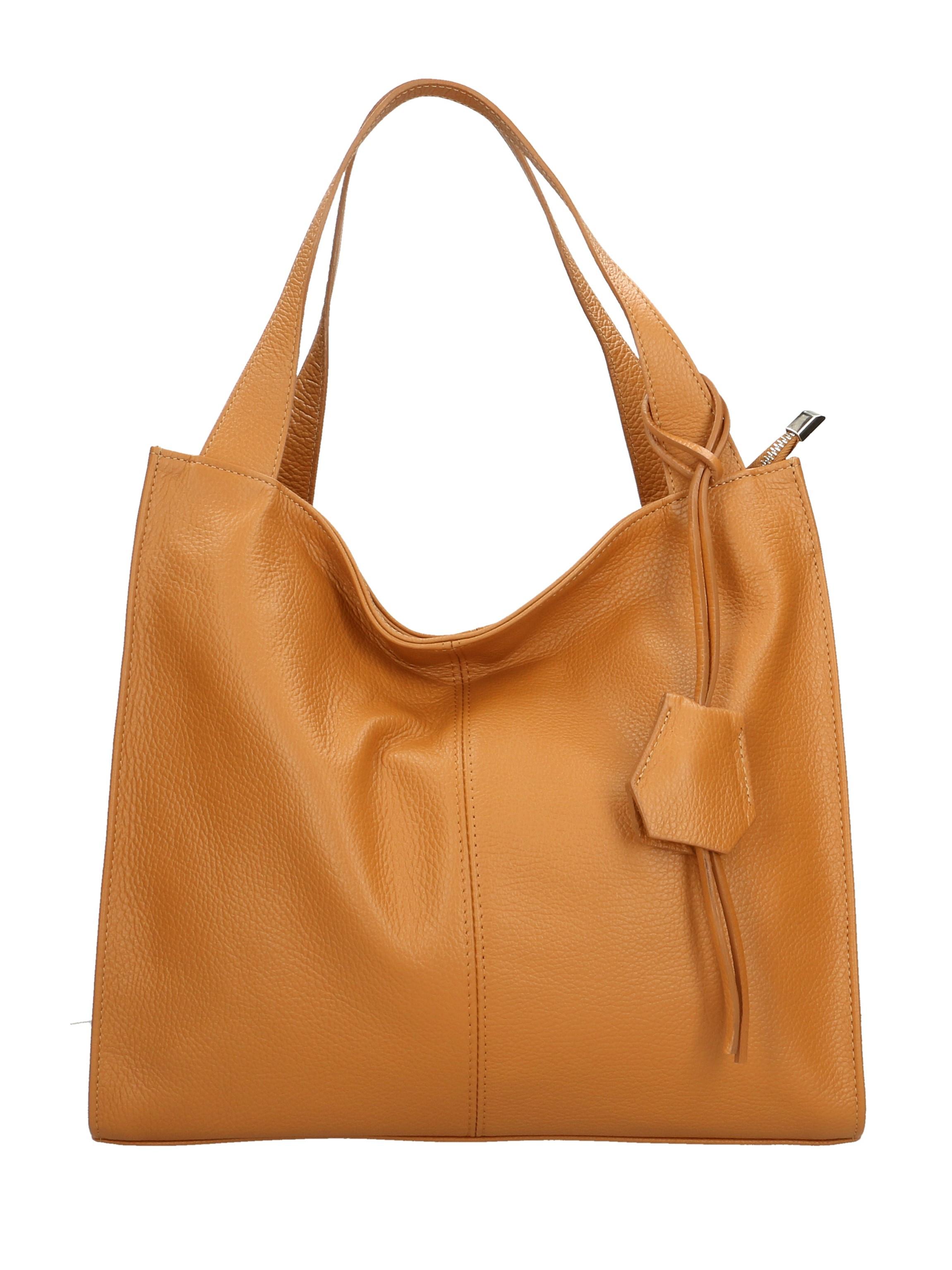 Kožená luxusní béžová beige kabelka přes rameno Darci