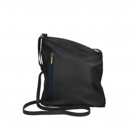 Kožená černá crossbody kabelka Deana Two