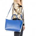 Kožená luxusní béžová beige kabelka přes rameno daveney