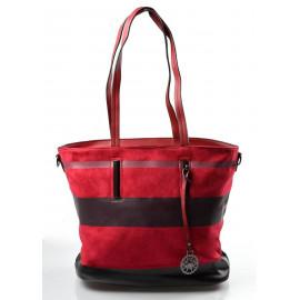 barevná bordó pruhovaná kabelky Berien